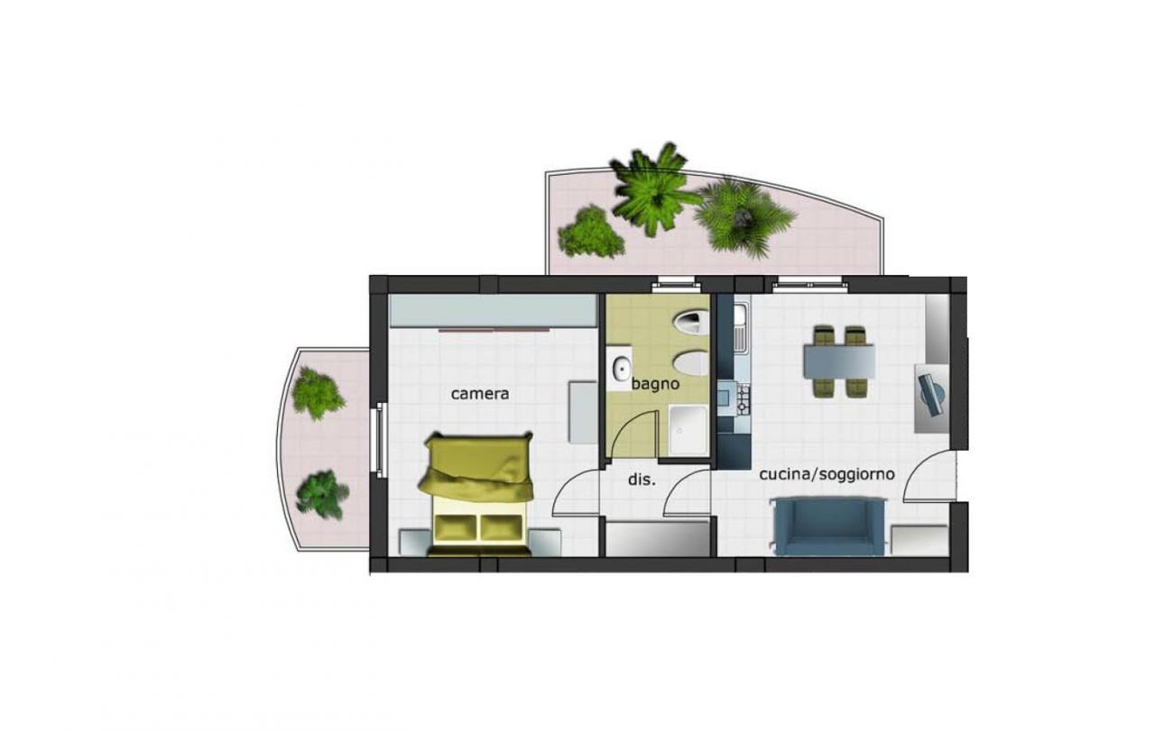 Appartamento in vendita a Spinetoli, 2 locali, zona Zona: Pagliare, Trattative riservate | Cambio Casa.it