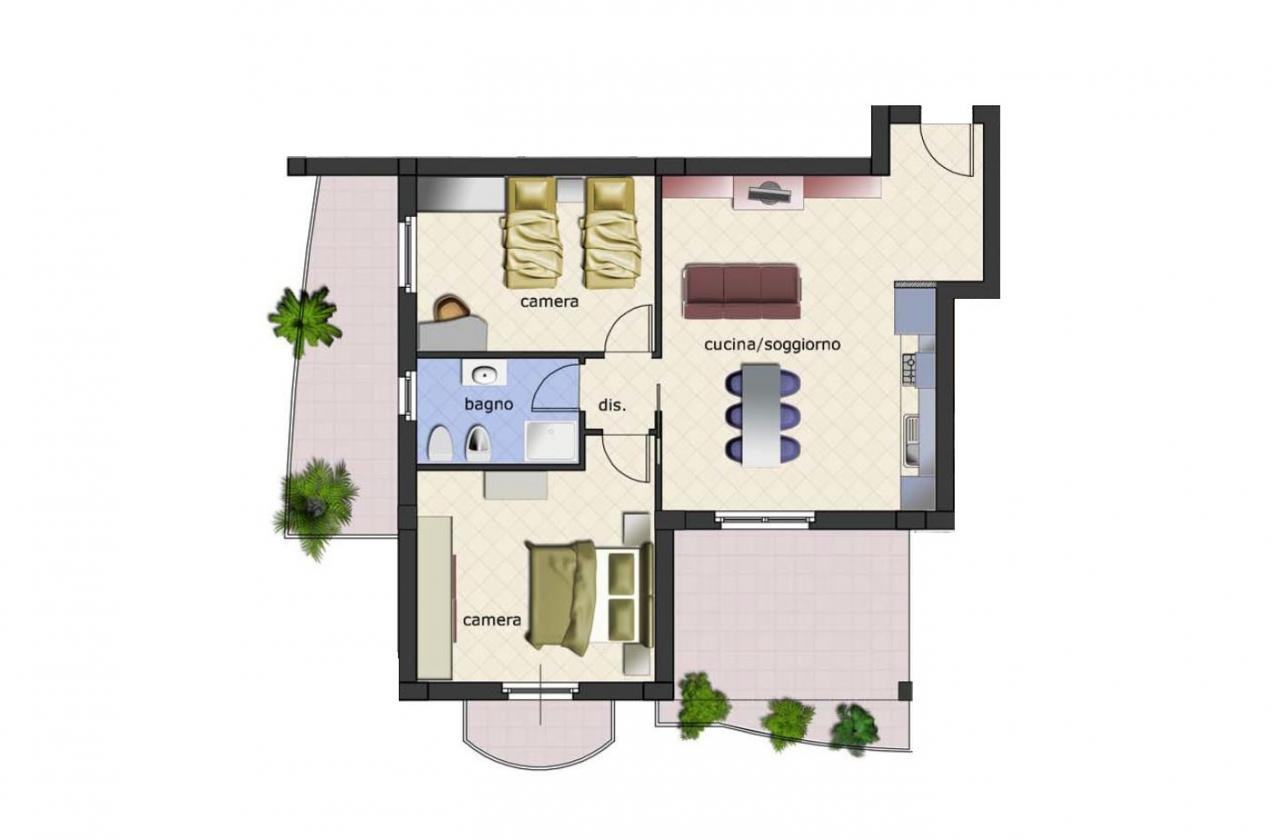Appartamento in vendita a Spinetoli, 3 locali, zona Zona: Pagliare, Trattative riservate | Cambio Casa.it