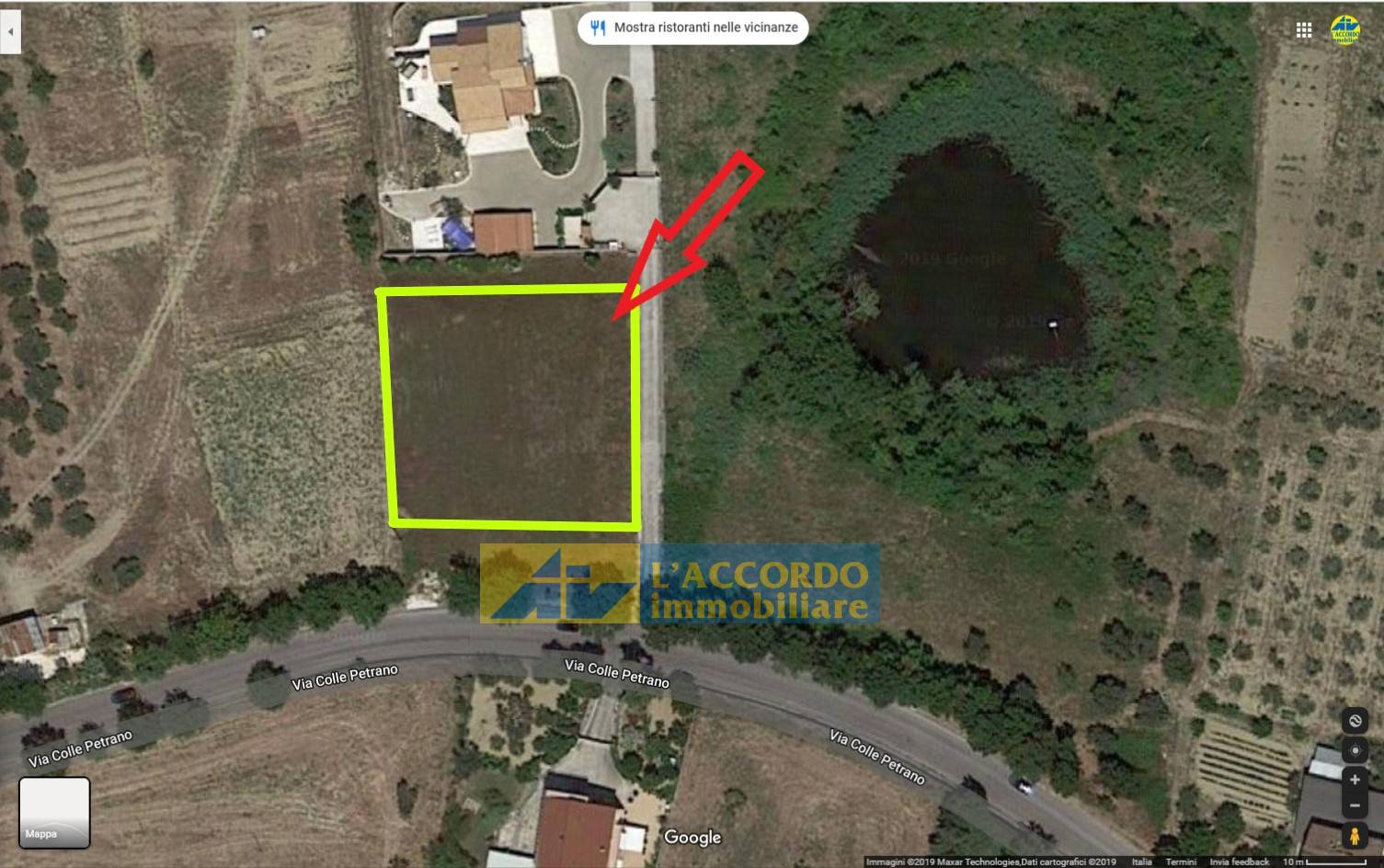 Terreno edificabile in vendita a Casalincontrada (CH)