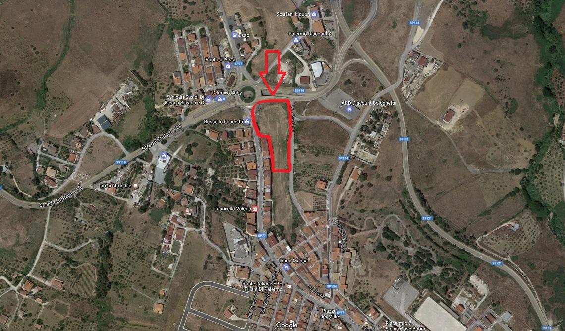 Terreno Edificabile Residenziale in vendita a Bolognetta, 9999 locali, prezzo € 130.000 | Cambio Casa.it