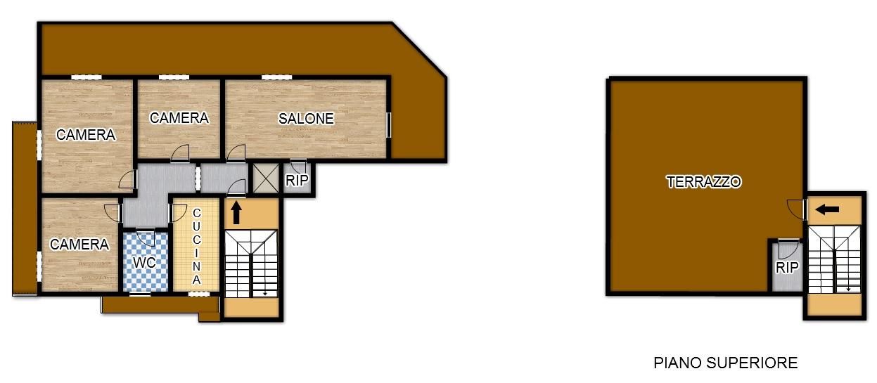 Appartamento in affitto a Palermo, 5 locali, zona Località: villabianca, prezzo € 850 | Cambio Casa.it